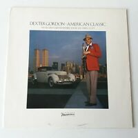 Dexter Gordon - American Classic - Vinyl LP Europe 1st Press 1982 NM