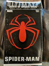 Ultimate Spider-Man #160 (Death of Spider-Man) Marvel Comics (sealed in bag)