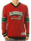 Ugly Christmas Sweater Men's North Pole Sleighers Hockey Jersey Xmas Sweatshirt