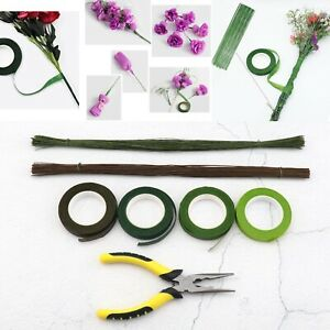 Floral Arrangement Tools Kit Set with Stem Wrap for Bouquet Stem Wrap Florist