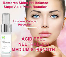 Acid Peel Neutralizer PH Balance Solution Pure Face Restore 30 ml Medium