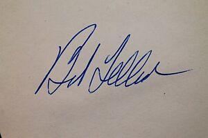 Bob Feller (d.10) Cleveland Indians HOF Autograph Book Signed Page 17C
