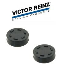 PAIR Victor Reinz Engine Valve Cover Cam Bore Plug 47mm OD For Audi VOLKSWAGEN