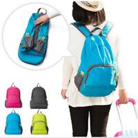 Outdoor Portable Foldable Travel Hiking Backpack Rucksack Bag Multifunction