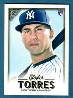 2018 Topps Gallery Gleyber Torres Rookie RC #89 New York Yankees