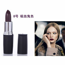 Vampire Matte Makeup Purple Lipstick Lip Gloss Waterproof Long Lasting Makeup