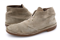 Clarks Mens 8M Brown Leather 82285 Lace Up Casual Ankle Chukka Boots