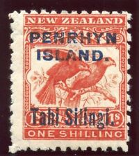 Cook Islands Penrhyn 1903 KEVII 1s bright red MLH. SG 16a. Sc 12a.