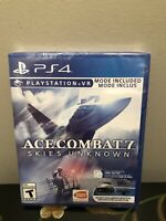 Ace Combat 7 Skies Unknown -( Playstation 4 / PS4) - Brand New ( US Version)