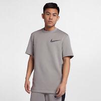 Nike Men's Therma Flex Showtime Training Crew Top  AH1793 027 Gray Black Sz XL