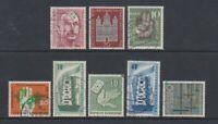 Alemania ( West) - 1956 , 8X Molde Estilar Temas - G / U (E)
