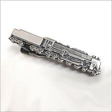 Locomotive Unique Tie Clasps & Tacks RooZee Tie Clip Bar Tie Pin Made in Japan