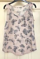 Atmosphere Floaty Butterfly Top Size 12