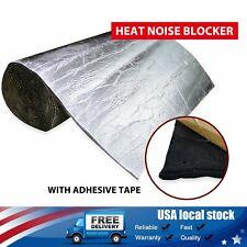 Car Insulation Door Hood Engine Floor Heat Sound Deadener Material 1/4
