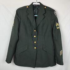 Weintraub Bros. Patriot Classic Coat US Military Army Dress Size 18 Reg. Women's