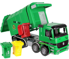 Click N' Play Friction Powered Garbage Truck Toy with Cans Vehicle
