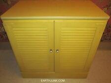 Ethan Allen Daffodil Yellow Custom Room Plan Maple Shutter Door Cabinet 14 4575