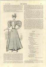 """1895 The Zit-zit"""" Cycling Skirt"""