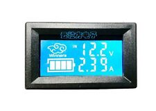 LCD DC digital display double display voltage and current temperature