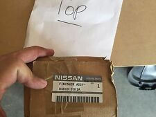 DECK LID FINISH PANEL. LICENSE MOLDING. For your Nissan Part Number: 848103SH1A