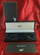 Original MONTBLANC Meisterstuck BOX SET for Boheme & Open Warranty