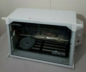 Ronco Showtime Pro 6000 Professional Rotisserie & BBQ White USED ONCE LKNW
