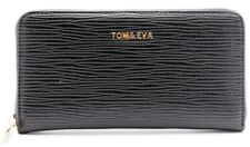 Tom & Eva Wallet Purse Clutch Leather Wallet Tosside Bag