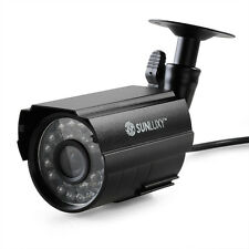 SUNLUXY CCTV 700TVL Security Camera Surveillance System Waterproof IR-CUT CMOS