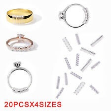 NEW Universal Ring Size Adjuster Reducer Sizer SPIRAL STYLE Snug SNUGGIES