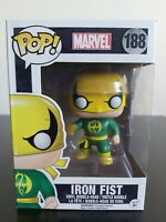 Marvel Funko Pop - Iron Fist (Green and Yellow) - No. 188