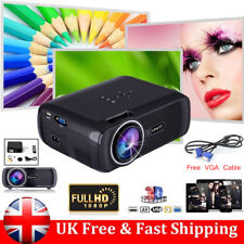 7000 lumen Uhappy Mini LED HD 1080P Projector Multimedia Home Theater Cinema 3D