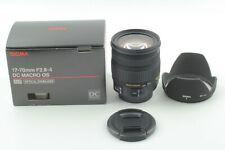 SIGMA 17-70mm F2.8-4 DC MACRO HSM Lens DIGITAL [near Mint] fron Japan