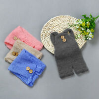 Newborn Baby Knit Crochet Clothes Costume Photo Photography Props Outfit K