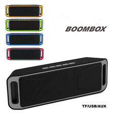 BLUETOOTH LAUTSPRECHER WIRELESS BOOMBOX SOUNDBAR TRAGBARER SPEAKER MINI USB