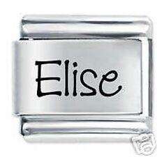 ELISE Nome - Daisy Charm da JSC Fits Classic Size Italian Braccialetto Ciondoli