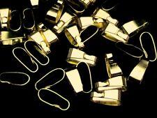 50 X 11mm De Oro Plateado Clip de resorte Colgantes Joyas Molduras resultados T73