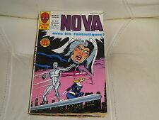 NOVA n° 117 de 1987- SPIDER MAN - LES FANTASTIQUES - IRON MAN comme neuf.