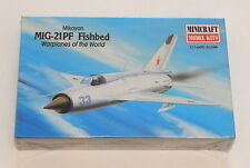 MINICRAFT MODEL KITS 1/144 MIKOYAN MIG-21PF FISHBED SEALED  R9079
