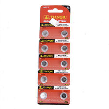 10 x 1.55V AG5 / 393A / LR754 /LR48 Alkaline Cell Button Battery For MP3 Player
