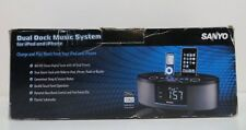 Sanyo DMP-692 Dual Dock Music System for iPod and iPhone