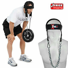 Head Harness Dipping belt Neck Builder Belt Weight Lifting Trainer With Chain