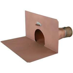 Copper Through Wall Parapet Roof Drain