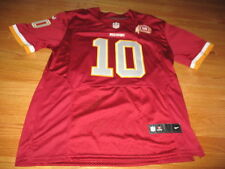 Nike ELITE ROGER GRIFFIN III No 10 80th WASHINGTON REDSKINS (Size 52) Jersey