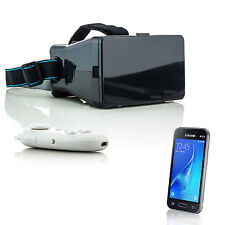 3D Brille VR Virtual Reality für Samsung Galaxy A7 A5 J5 J3 J1 mit Fernbedienung