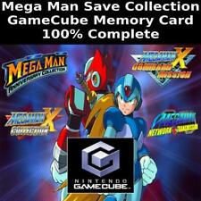 Unlocked Mega Man Save Collection   100% Complete   GameCube Memory Card