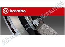 SET DISQUES+LES PLAQUETTES DE FREIN BREMBO FIAT GRANDE PUNTO 1.3 75CV