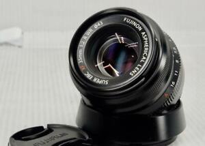 "Fuji Fujifilm  Fujinon XF 35mm F/2 R  Prime Lens, "" Made in  JAPAN """