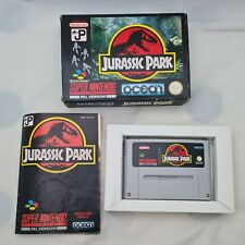 Super Nintendo SNES Jurassic Park PAL (Boxed with Manual and all Inserts)