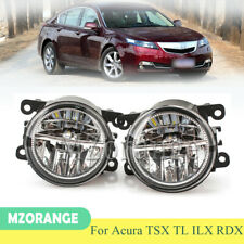 Pair Fog Light Lamp For Acura TSX 2011 2012 2013 2014 TL 2012 2013 2014 ILX RDX