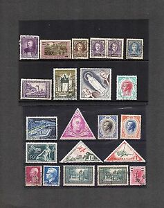 Monaco;1923-1960; selection of 22;mint or used; cat £77+